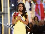 A Twitter controversy ignited on Sunday night after Nina Davuluri won Miss America 2014. PHOTO: AFP