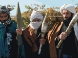 File photo of Taliban members.  PHOTO: AFP/FILE