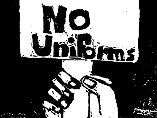 no uniforms schools essay