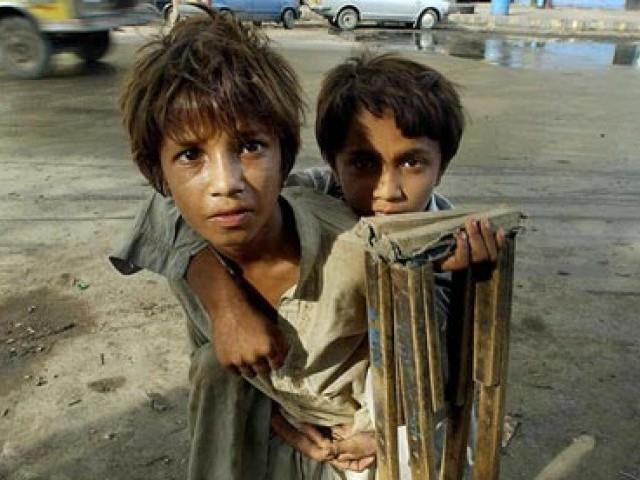 street children in karachi