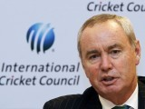 Alan Isaac, President of the International Cricket Council (ICC). PHOTO: REUTERS