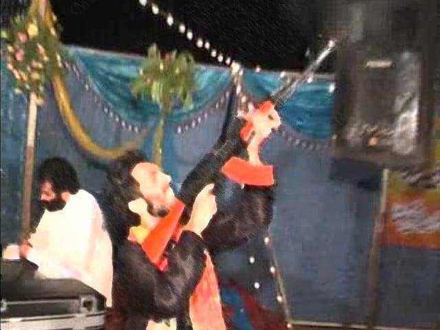celebratory firing