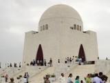 Where would you find such highly creative, extremely ambitious and down-right greedy and shameless souls who would rent out the mausoleum of their nation's founder for the meagre amount of a few thousand rupees? PHOTO: AFP