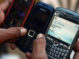If only shopkeepers stopped buying and selling stolen cell phones, fewer people would be robbed and killed. PHOTO: AFP