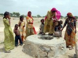 Politicians will go back to their comfortable homes and mothers in Thar will continue to mourn over their dead babies. PHOTO: FILE