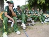 Pakistan's women cricket team. PHOTO: REUTERS/FILE
