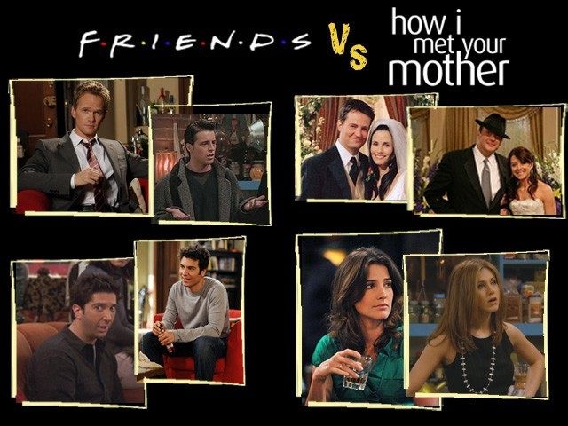 Friends Or How I Met Your Mother Yahoo : Friends versus how i met your mother for the win