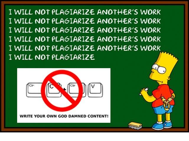 avoid plagiarizing research paper