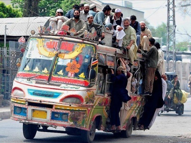 Travelling On A Pakistani Public Bus Is Never Boring