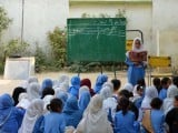 Hopefully, the Education Advisory Council in Pakistan will have more teeth for the sake of the future of millions of children, unlike India's NCPCR. PHOTO: AFP