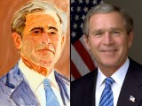 I am disappointed that Mr Bush didn't take advantage of his new leisure activity to paint incidents from the real world – a world full of destruction, death, casualties and warfare – that surrounded him during his presidential years.