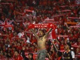 You'll never walk alone. A motto Liverpool fans stand by. PHOTO: Reuters