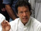 "Imran Khan believes the legal system has failed him. He claims that the former Chief Justice Iftikhar Chaudary, whom he once praised for his bold decision-making skills, should be tried under Article 6 for being a ""traitor"". PHOTO: FILE"