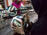 Around 3,000 Brazuca balls are expected to be manufactured and supplied by Pakistan. PHOTO: REUTERS