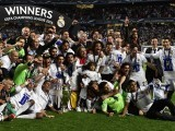 Real Madrid lifts the La Decima - their 10th Champions League trophy. PHOTO: AFP