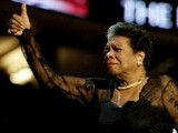 Through her poetical works, Angelou expressed her profound feelings, intelligence, humour, audacity and elegance. PHOTO: REUTERS