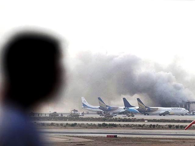 Karachi airport (AFP)