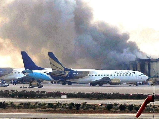 Karachi airport attack afp 2