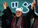 Why is he ignoring his own people's action in this tragedy that has gripped Lahore? Dr Qadri, your people are not in the right; you are not the victim here; your party is not the only one that has experienced losses. PHOTO: AFP/ FILE