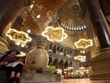 The Hagia Sophia in Istanbul, Turkey. PHOTO: REUTERS