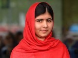 Malala has become an ambassador of Pakistan for goodwill and she is promoting her nation wherever she goes. PHOTO: AFP