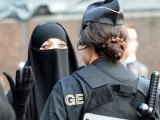 The arrest of a young woman in France for wearing a full face veil caused riots and led to a key trial shunning the ban. PHOTO:AFP