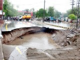 A few centimetres of rain has created a war-like situation in our cities; as we witness black outs, embargo of water supply, collapse of infrastructure and loss of lives. PHOTO: FILE