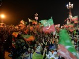 I realise that Imran Khan will not be able to solve all our problems. But I do know that he has succeeded in bringing a change to Pakistan. PHOTO: AFP