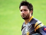 Afridi has been appointed T20 captain because he looks to be Pakistan's best option but the problem with this is that it leave no place for grooming a future leader. PHOTO: AFP/FILE