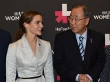 "Emma addressed men and said that ""it is your problem too"" and indeed it is but a campaign named HeforShe is biased itself. PHOTO: AFP"