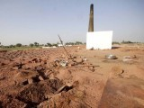 The brick kiln where the mob burned the Christian couple to ashes. PHOTO: EXPRESS TRIBUNE