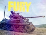 The Sherman tank nicknamed 'Fury' is as much of a character as any other living, breathing actor in the motion picture. PHOTO: FURY FACEBOOK PAGE