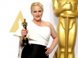 The speech that heightened the most interest and controversy was that of Patricia Arquette, who won an Oscar for her role in Boyhood. PHOTO: REUTERS