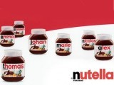 The 'Say it with Nutella' campaign allows chocolate enthusiasts to have their names or messages written on a jar of the chocolate spread with the use of an online app, which they could then share on social media. PHOTO: LINKEDIN