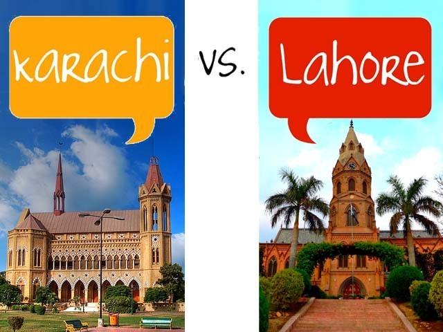 Karachi vs Lahore