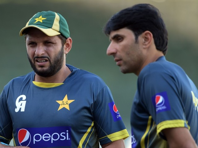 ThankyouMisbah and #ThankyouAfridi – You will be missed