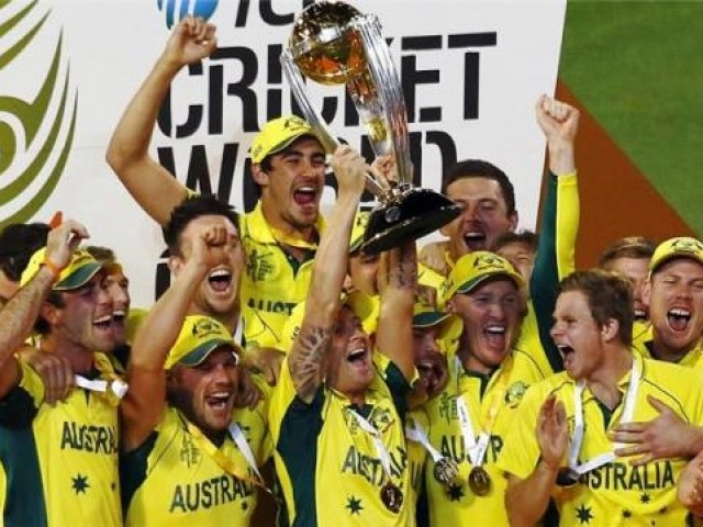 They are called 'mighty' for a reason and they proved it with another feather in their cap; a record fifth World Cup title. PHOTO: REUTERS