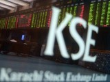 The broader Index, KSE 100, declined by an eye popping 17.5% from 35,055 points to 28,927 points in less than two months. PHOTO: AFP
