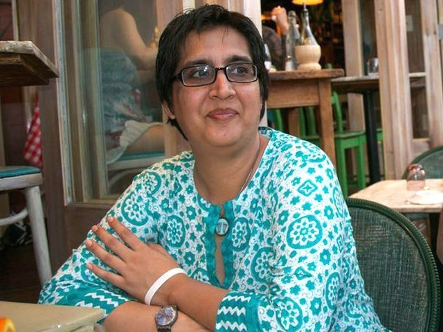 """Sabeen was not targeted after """"attending a seminar"""" at T2F. She was targeted and shot dead for organising a talk on Balochistan. PHOTO: TWITTER (@q_nida)"""