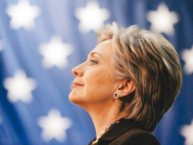 Hillary Clinton will be contesting in the US presidential elections. PHOTO: AFP