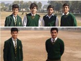 A photograph posted by APS student Talha Munir Paracha on his Facebook page. PHOTO: FACEBOOK