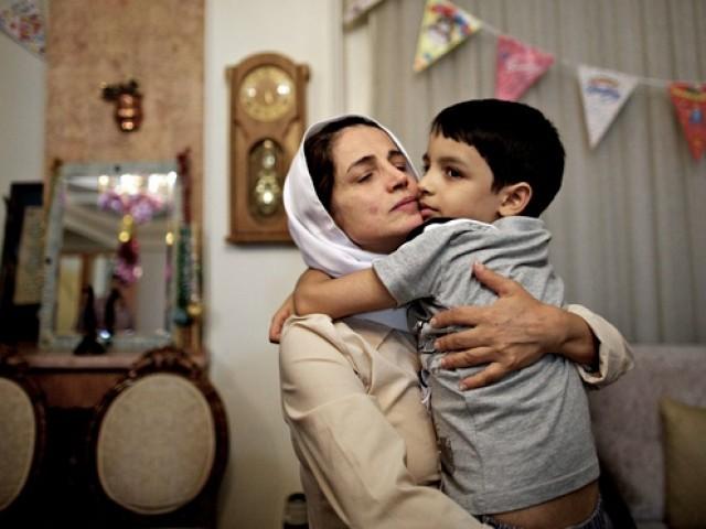"""""""My son, my son, my son. I want my son"""". PHOTO: AFP"""