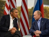 US President Barack Obama (L) and Russian President Vladimir Putin. PHOTO: AFP