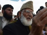 Hurriyat leader Syed Ali Shah Geelani  PHOTO: AFP