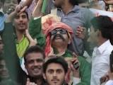 Fans gather up in Gaddafi stadium for the second T20. PHOTO: MALIK SHAFIQ/EXPRESS