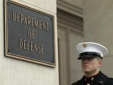 A U.S. Marine at the Pentagon in Washington PHOTO: REUTERS