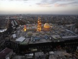 The shrine of Imam Hussain (RA) in the central city of Karbala. PHOTO: AFP