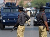 A look at the Karachi operation. PHOTO: AFP