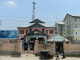 More than 50 towers in the Sopore area of northern Kashmir have been taken out of service. PHOTO: AFP
