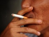 Anti-tobacco advocates aggressively push the line against smoking. PHOTO: AFP